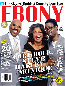 Ebony's April cover