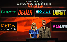The best drama nominees for the 60th Annual Primetime Emmy Awards included Fox's 'House.'