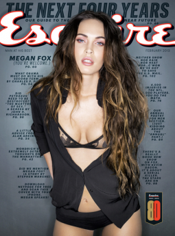 The February 2013 issue of Esquire