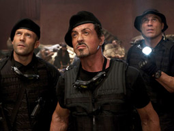 'The Expendables' grossed $35 million this weekend.