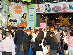 The scene at this year's Licensing International Expo in Vegas
