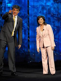 Craig Ferguson and Nina Tassler