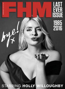 The February 2016 U.K. edition issue was FHM's last in print.