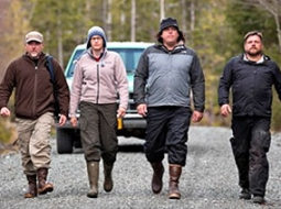 Cliff, Ranae, Bobo and Matt -- the Bigfoot team on Animal Planet's 'Finding Bigfoot'