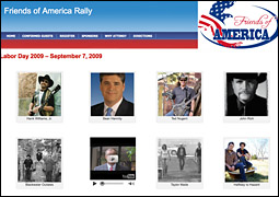 Friends of America Rally