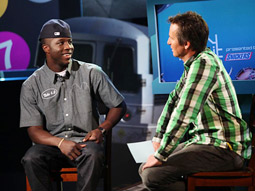 Nike 6.0 athlete Nigel Sylvester talks with 'The Daily Habit' host Pat Parnell.