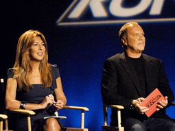 'Marie Claire' is expected to replace 'Elle' as the new editorial partner when Nina Garcia (shown here with fellow 'Runway' judge Michael Kors) starts her new gig as fashion director in September.
