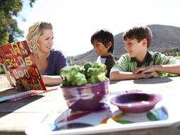 Jennie Garth hosts the Hidden Valley Ranch sponsored web series 'Garden Party.'