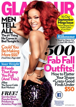 Over 100,000 readers activated the 2-D barcodes in Glamour's September issue.