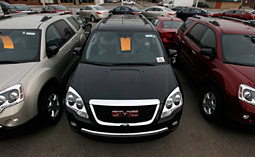 GM's sales rose 2.6% over last month and 5.4% from July of 2009.