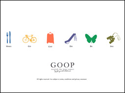 Goop is the paragon of aesthetic simplicity.