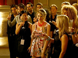 According to a new report from media-research agency Magna, CW's 'Gossip Girl' is up significantly over last year at this time.