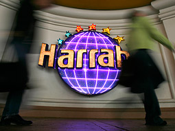 Harrah's devoted nearly $70 million in domestic measured media in 2007 to the Harrah's brand of casino hotels, according to TNS Media Intelligence.