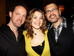 Headroom's Evan Spear, Claudia Gaspar and Jerry Plotkin