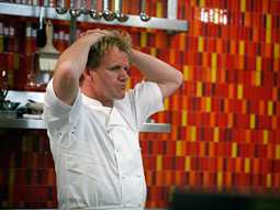 Fox's 'Hell's Kitchen' had the highest ratings this summer.