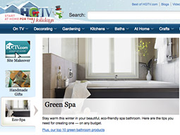HGTV.com is a market leader, with the fourth highest traffic volume in the home and garden category.