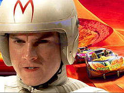 Emile Hirsch stars as Speed in Warner Bros.' 'Speed Racer.'
