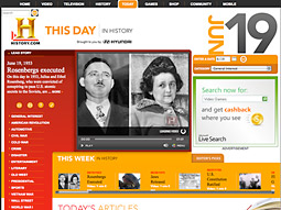 The History Channel's 'This Day in History' offers semi-illuminating video clips.