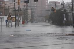 Residents of Hoboken, N.J., suffered severe flooding.