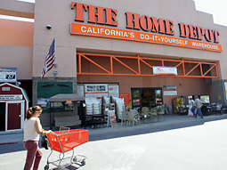 A spokeswoman for Home Depot said, 'We're aiming to do regular reviews to continuously ensure we are maintaining best-in-class relationships with all of our marketing partners.'