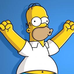 Homer Simpson: 'Woo hoo!'