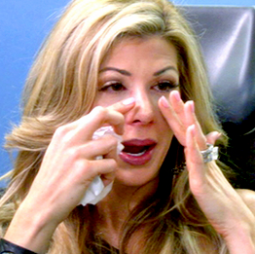 Alexis from 'The Real Housewives of Orange County' after nose surgery
