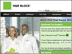 The move to DDB could be a sign that H&R Block is feeling heat from rival TurboTax, the leader in the tax software market.