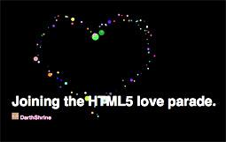 IO 9Elements HTML 5 Canvas Experiment
