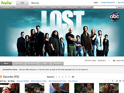 Adding ABC content like 'Lost' has contributed to Hulu's growth.