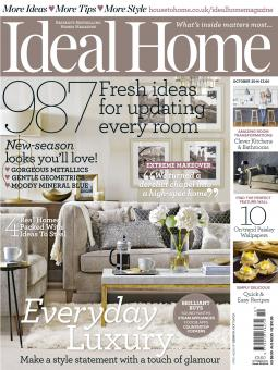 Readers of IPC Media's Ideal Home can subscribe via text message. An ad in the October issue's tablet of contents, pictured below, describes how to text to subscribe.