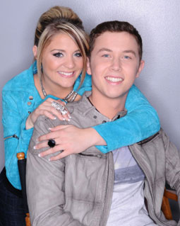 The final two: Lauren Alaina and Scotty McCreery
