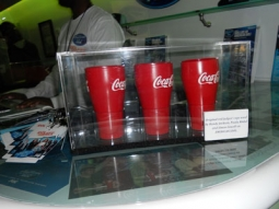 Coke's cups on tour with 'Idol Across America'