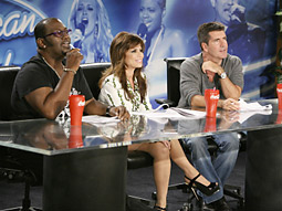 Are Coca-Cola cups sitting prominently on the 'American Idol' judges' table really making the most of product placement?