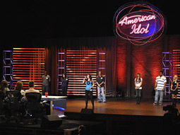 Last night 'American Idol' actually increased its audience from last week.