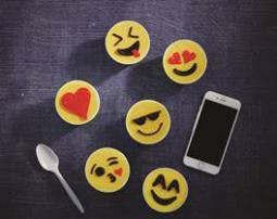 Carvel introduces personalized emoji cups.
