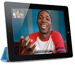 Marketers might want to look into video-chatting on the iPad2