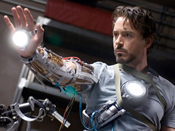 Because Iron Man was a much lesser-known superhero, the movie took a much more traditional media approach, leveraging its celebrity cast of Robert Downey Jr., among others.