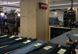 The Levis Shop in JC Penney