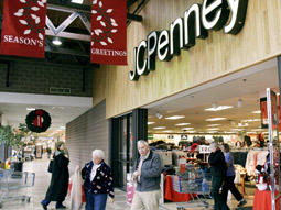 JCPenney said its budget is flat as a percentage of sales, compared to last year.