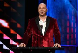 Jeff Ross at the 'Comedy Central Roast of Justin Bieber' last year.