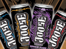 Alcoholic energy brands such as Joose had some of the largest crowds on the tradeshow floor.
