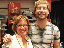 Ad Age Managing Editor Judann Pollack on assignment. And David Cook.