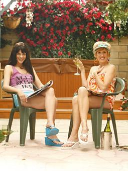 NBC's American version of the Australian hit 'Kath & Kim' premiered Thursday night.