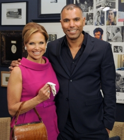 Katie Couric and Michael Houston, chief operating officer at Grey.