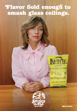 Kettle's election-themed campaign.