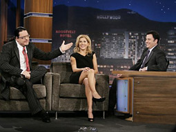 'Jimmy Kimmel Live' with Penn Jillette and Monica Seles.