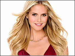 Heidi Klum will wear a red dress on behalf of the Heart Truth campaign during New York's Fashion Week and at the Oscars.
