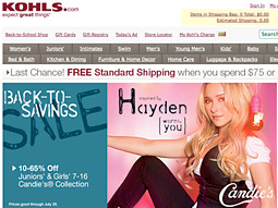 Kohl's is looking to attract attention with its exclusive lines from Avril Lavigne, Lenny Kravitz and Hayden Panettiere, among others.