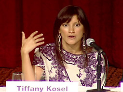 Tiffany Kosel at Ad Age's 2009 Women to Watch event.