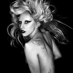Lady Geiber. Er, Gaga -- Lady GAGA.